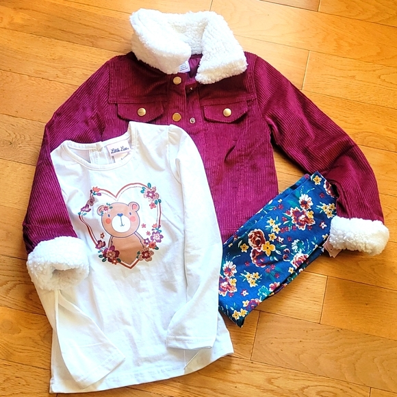 Little Lass 3 piece Outfit New With Tags